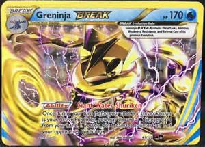 Pokemon Competitive Decks by Greninja Break 41 122 Pokemon Tcg Xy Breakpoint Over
