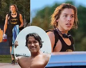 Joseph Baena and Arnold Schwarzenegger - Photos ...