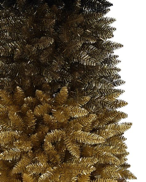 and gold trees black gold ombre christmas tree treetopia