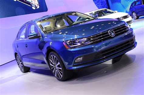 2015 Volkswagen Jetta And Golf Sportwagen Concept On Show
