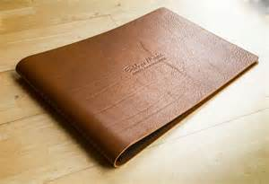 photo album binder leather portfolios binders folders albums hartnack
