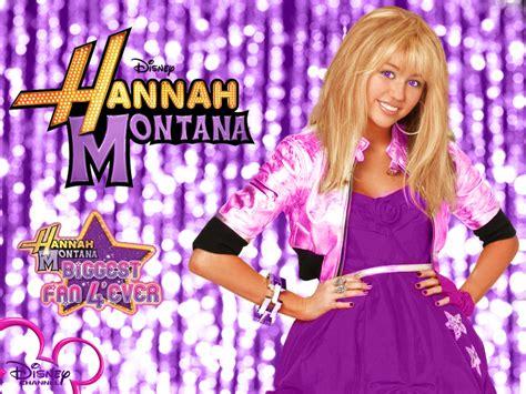 Hannah Montana Season 3 Purple Background Wallpaper As A
