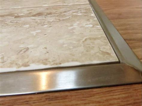 Wood To Tile Metal Transition Strips by House Works Special Links Different Flooring Types