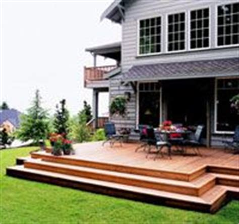 deck without railing curved deck with stairs no railing cabin deck ideas pinterest