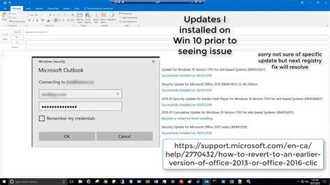 Office 365 Outlook Prompting For Credentials by Outlook 2016 2013 Password Prompt Issue 2018 Fix