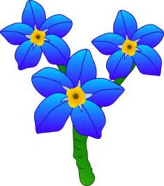 Forget Me Not Flowers Clip Art