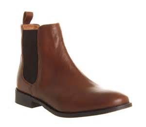 womens boots sale office womens office bramble chelsea boots brown leather boots ebay