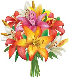 photo albums for sale lilies flowers bouquet png clipart image gallery