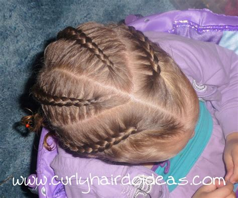 Cute Braided Hairstyles For Toddlers