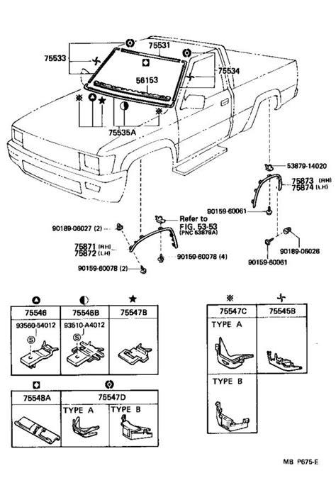 Toyota 4Runner Moulding, quarter panel wheel opening