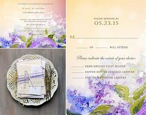 ideas of summer wedding romantic lavender themed wedding With lavender themed wedding invitations