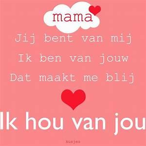 Mijn moeder is ... Moeder Dag Quotes