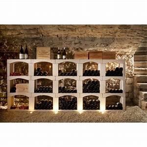 Casier à Bouteilles : casier a bouteille de vin en pierre reconstitu e rangement cave module 288 bouteilles ~ Teatrodelosmanantiales.com Idées de Décoration
