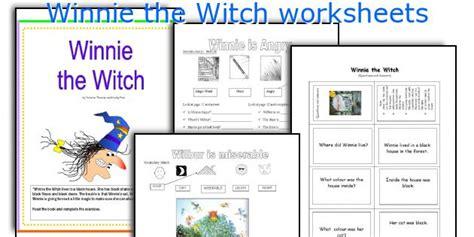 winnie  witch worksheets