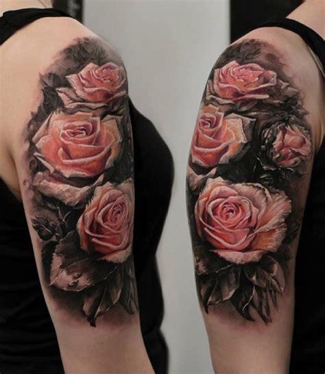 meaningful rose tattoo designs sleeve tattoos