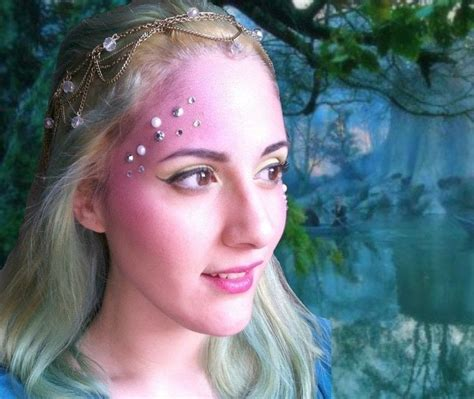 fairy nymph  mermaid makeup tutorial   create