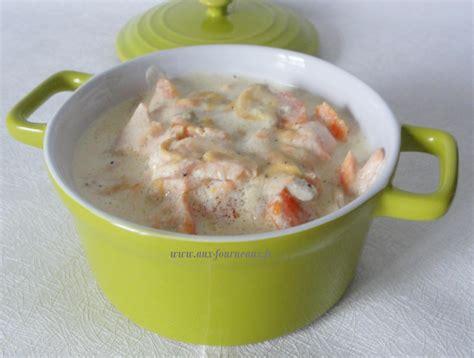 fourneaux de cuisine blanquette de saumon de cyril lignac la recette aux