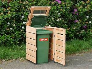 Mülltonnenverkleidung Selber Bauen : 1er m lltonnenbox m lltonnenverkleidung holz mit ~ Watch28wear.com Haus und Dekorationen