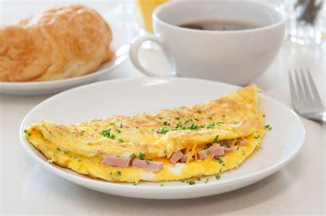 cuisiner de la dinde omelette jambon emmental cuisine az