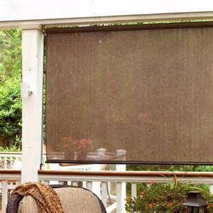 radiance montecito roll up sun window shade espresso