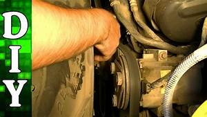 How To Remove And Replace A Serpentine Belt
