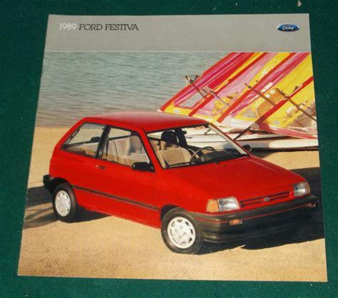 find  ford festiva dealer sales brochure