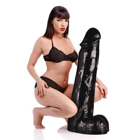 Moby Huge 3 Foot Tall Super Dildo- Black - GentleToys.com
