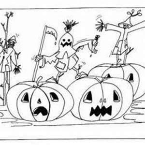 Citrouille Halloween Dessin : dessin citrouille d halloween cool coloriage de sorcieres ~ Melissatoandfro.com Idées de Décoration