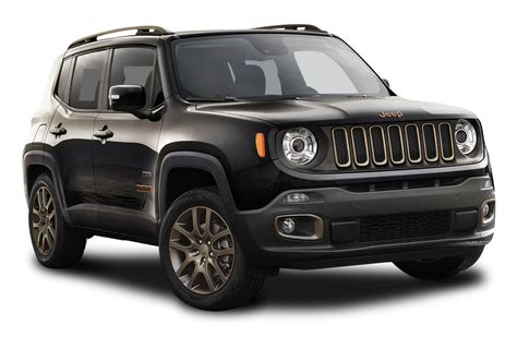 Black Jeep Renegade Car Png Image Pngpix