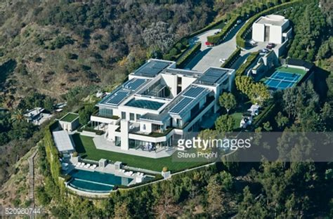 square foot modern mega estate  beverly hills ca homes   rich
