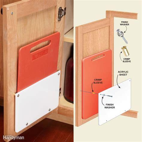 plastic kitchen cabinet doors 18 inspiring inside cabinet door storage ideas the 4268