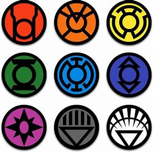 Blackest Night - Lantern Corp Insignias | DC - Blackest ...
