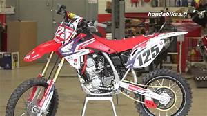 Esittelyss U00e4 Honda Crf150r Motocross Py U00f6r U00e4