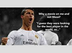 Cristiano ronaldo interview and rivalry with Messi