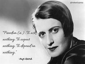 16 inspiring qu... Ayn Rand Philosophy Quotes