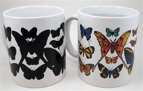 color changing mugs butterflies color changing mug wondermugs