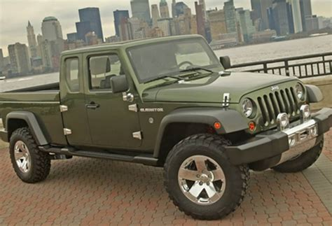 jeep wrangler pickup concept 2018 jeep gladiator redesign and improvements 2018