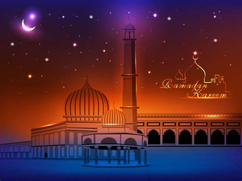 islamic mosque vector graphic  vector