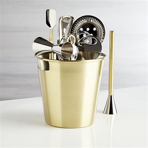 gold bar tools bar tool set gold reviews crate and barrel 1255