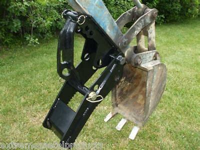 backhoe thumb fits  holland kubota weld  ebay