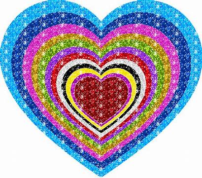 Graphics Glitter Sparkles Various Copy Colors Heart