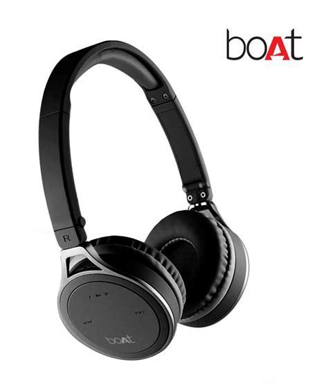 Boat Earphones by Buy Boat Rockerz 500 On Ear Bluetooth Headphone Black