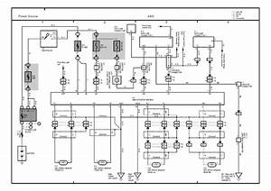 Technical Car Experts Answers Everything You Need  Abs Wiring Diagram For 2001 Toyota Camry