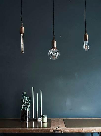 Ikea Dining Hung Bulbs Lighting Hanging Low