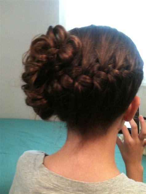 jr bridesmaid hairstyles wedding hairstyle jr bridesmaid hair braid katina s