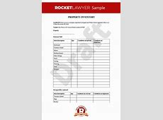 Inventory Property Inventory Inventory Template