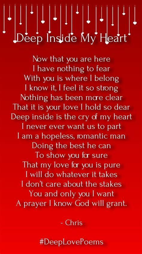 deep love poems     heart love songs deep