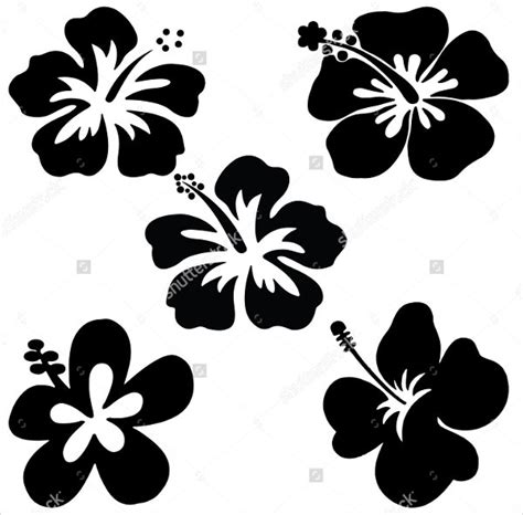 flower petal templates  vector eps