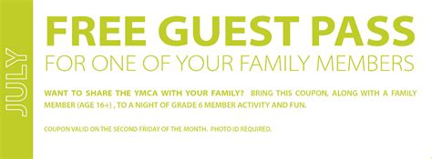 Month Guest P Ymca Calgary