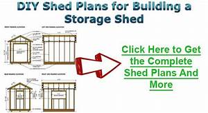 L Shaped Outdoor Shed Building Diagrams